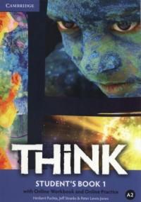 Think 1. Students Book with Online - okładka podręcznika