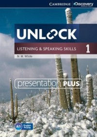 Unlock 1. Listening and Speaking Skills Presentation plus (DVD) - pudełko programu