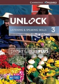 Unlock 3. Listening and Speaking Skills Presentation plus DVD - pudełko programu