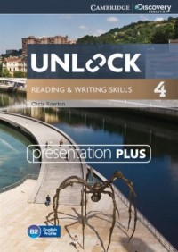 Unlock 4. Reading and Writing Skills Presentation Plus (DVD) - pudełko programu