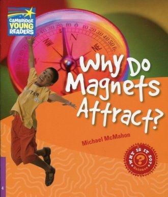 Why Do Magnets Attract? Level 4. - okładka książki
