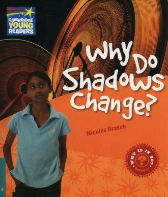 Why Do Shadows Change? Level 5. - okładka książki