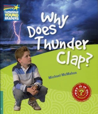 Why Does Thunder Clap? Level 5. - okładka książki