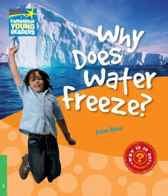Why Does Water Freeze? Level 3. - okładka książki