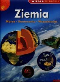 Wiedza w pigułce Ziemia. Morza. Kontynenty. Wszechświat - okładka książki