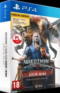 Wiedźmin 3. Krew I Wino (PS4) - pudełko programu