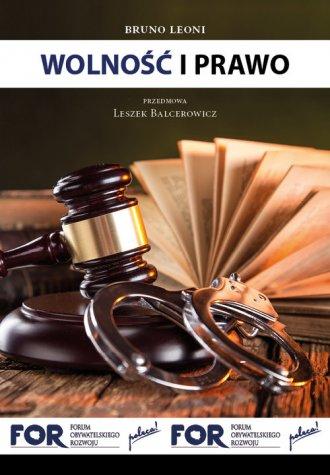 Wolność i prawo - okładka książki