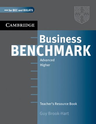 Business Benchmark Advanced Teachers - okładka podręcznika