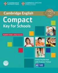 Compact. Key for Schools Students - okładka podręcznika