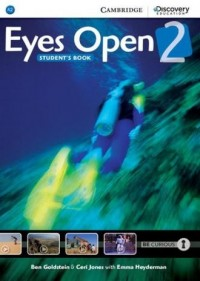 Eyes Open 2. Students Book - okładka podręcznika