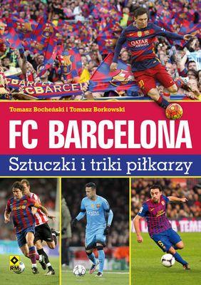 FC Barcelona. Sztuczki i triki - okładka książki