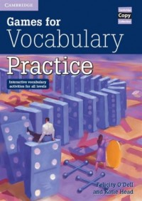 Games for Vocabulary Practice - okładka podręcznika