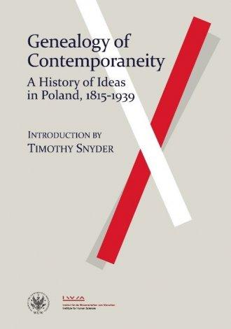 Genealogy of Contemporaneity. A - okładka książki