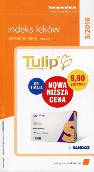Indeks leków - aktualne ceny 3/2016 - okładka książki