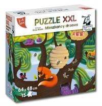 Kapitan Nauka. Mieszkańcy drzewa (puzzle maxi) - zdjęcie zabawki, gry