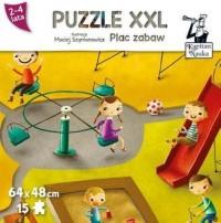 Kapitan Nauka. Plac zabaw (puzzle maxi) - zdjęcie zabawki, gry