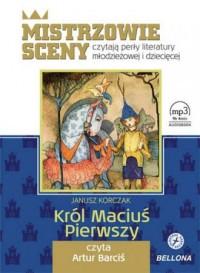 Król Maciuś Pierwszy  - pudełko audiobooku