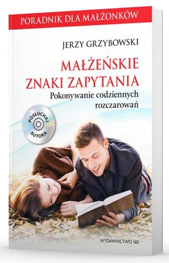 Małżeńskie znaki zapytania (+ CD). - okładka książki