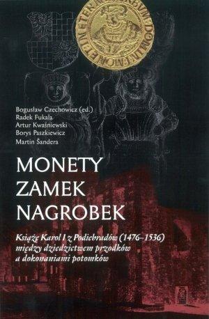 Monety, zamek, nagrobek - okładka książki