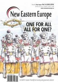 New Eastern Europe 3-4/2016 - okładka książki