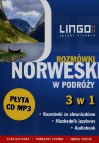 Norweski w podróży. Rozmówki 3 w 1 ( CD) - okładka podręcznika