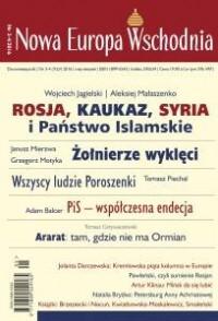 Nowa Europa Wschodnia nr 3-4/2016 - okładka książki