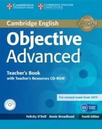 Objective Advanced. Teachers Book (+ CD) - okładka podręcznika