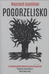 Pogorzelisko - okładka książki