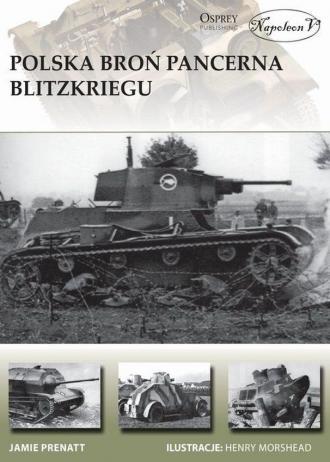 Polska broń pancerna Blitzkriegu - okładka książki