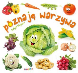 Poznaję warzywa - okładka książki