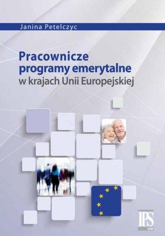 Pracownicze programy emerytalne - okładka książki