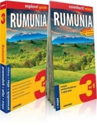 Rumunia explore! guide 3 w 1. Przewodnik - okładka książki