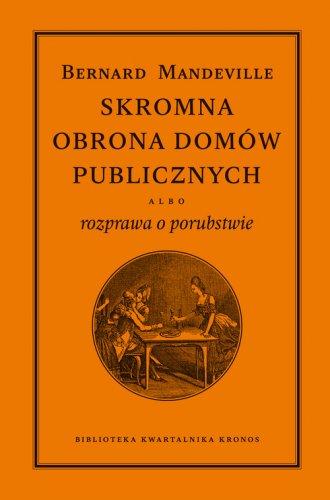 Skromna obrona domów publicznych - okładka książki