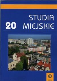Studia Miejskie. Tom 20 - okładka książki