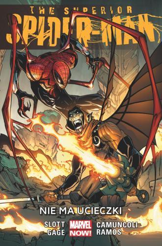 The Superior Spider-Man. Nie ma - okładka książki