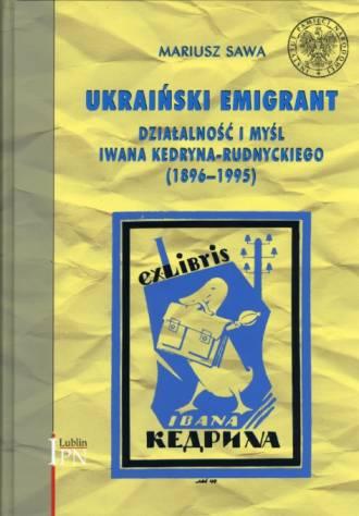 Ukraiński emigrant. Działalność - okładka książki