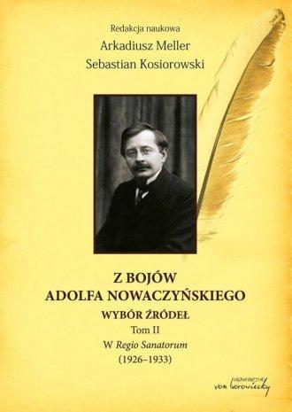 Z bojów Adolfa Nowaczyńskiego. - okładka książki