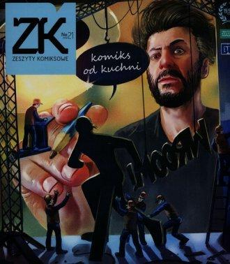 Zeszyty komiksowe nr 21. Komiks - okładka książki