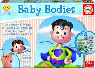 Baby bodies. Gra logiczna dla dzieci - zdjęcie zabawki, gry