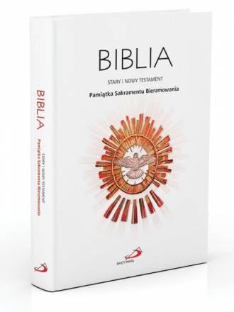 Biblia. Stary i Nowy Testament. - okładka książki