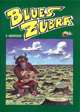 Blues żubra - okładka książki