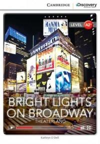 Bright Lights on Broadway: Theaterland - okładka podręcznika
