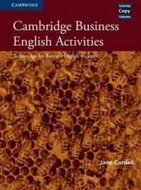 Cambridge Business English Activities - okładka podręcznika