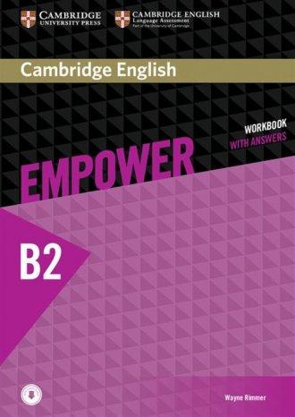 Cambridge English. Empower. Upper - okładka podręcznika