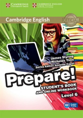 Cambridge English. Prepare! 6 Students - okładka podręcznika