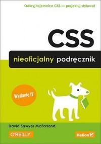 CSS. Nieoficjalny podręcznik - okładka książki