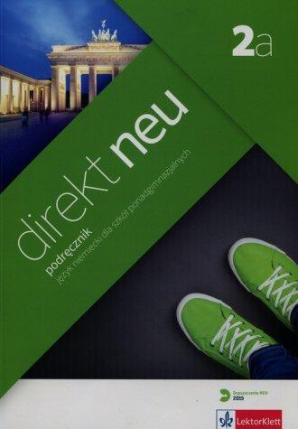 Direkt Neu 2a. Podręcznik (+ CD). - okładka podręcznika