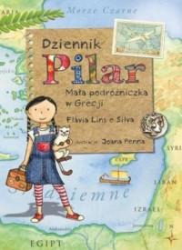 Dziennik Pilar. Mała podróżniczka w Grecji - okładka książki