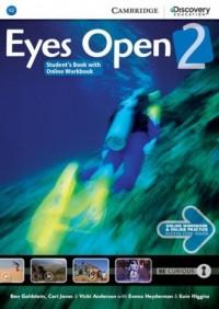 Eyes Open 2. Students Book with - okładka podręcznika