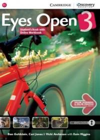 Eyes Open 3. Students Book with - okładka podręcznika